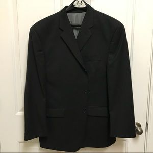 Men's Calvin Klein Sport Coat - Black - 46S